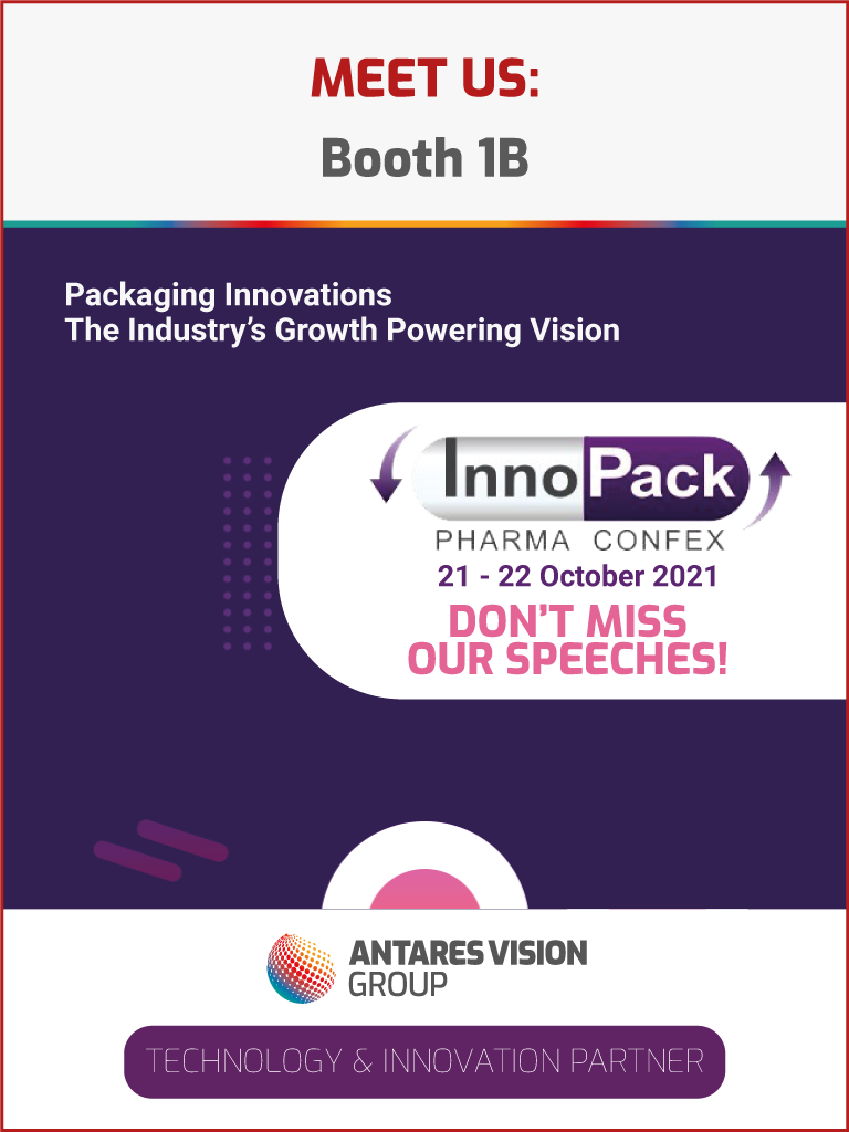 Antares Vision Group InnoPack Pharma Confex 2021